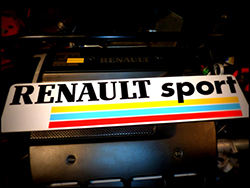 adh sif renault sport pour plaque boutique. Black Bedroom Furniture Sets. Home Design Ideas